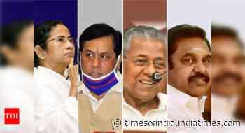 Anti-incumbency takes a beating: TMC set for resounding return in Bengal, LDF in Kerala, BJP in Assam