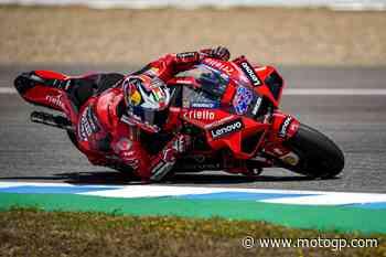 Jerez si tinge di rosso Ducati!