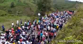 En protesta permanente se declaran campesinos de Anorí hasta que Gobierno los escuche - Pulzo.com