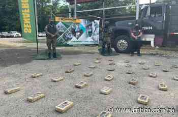 Fronterizos decomisan droga en Guna Yala y Chepo - Crítica Panamá