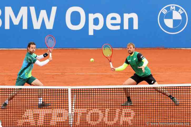 ATP Doubles: Wesley Koolhof, Kevin Krawietz beat No. 3 seeds for Munich title