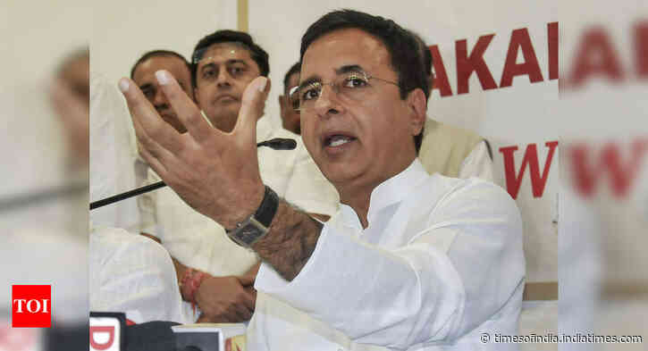 Congress 'lost' elections but not its 'morale or resolve' to be people's voice in these tough times, says Randeep Surjewala