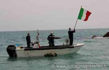 1 Maggio a Porto Recanati, corona in mare per i pescatori caduti sul lavoro - Il Cittadino di Recanati