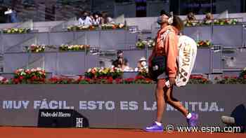 Osaka upset by Muchova in Madrid Open 3-setter