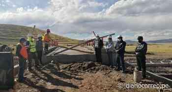 Construyen puente carrozable en Lampa - Diario Correo