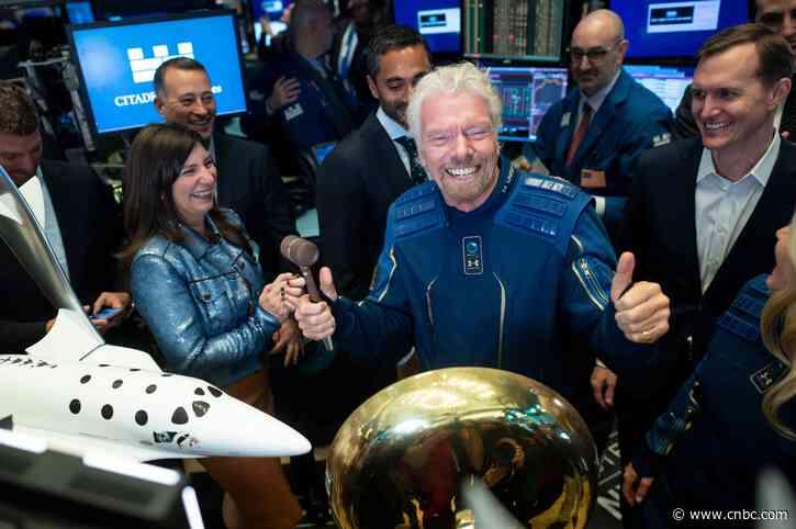 Richard Branson sells over $150 million in Virgin Galactic stock - CNBC
