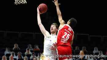 Braunschweigs Basketballer gewinnen gegen Bamberg