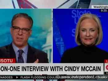 Cindy McCain, widow of Arizona senator John McCain, calls pro-Trump 'audit' of 2020 results in her state 'ludicrous'