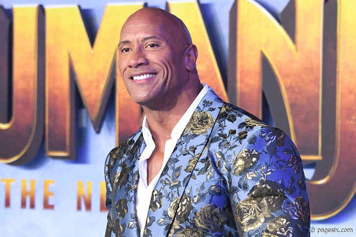 Dwayne Johnson says people thought he was a girl growing up - Page Six