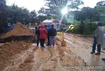 Desabastecimiento de gas por un derrumbe en Sonsón, Antioquia - Alerta Paisa