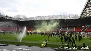 Man Utd-Liverpool postponed after Old Trafford protest