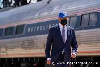 Adviser suggests Biden still wears mask outside out of habit