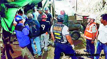 Camaná: Mineros artesanales casi mueren intoxicados en socavones de Secocha - Los Andes Perú