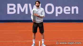 Basilashvili claims fifth ATP title at Munich Open