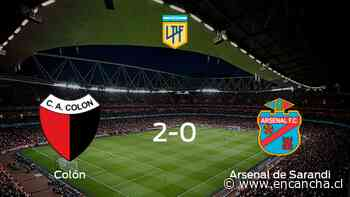 Colón se impone por 2-0 a Arsenal de Sarandi - EnCancha.cl