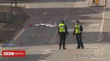 Three seriously injured in Edinburgh rickshaw crash