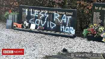 Children's memorial vandalised in Dunfermline cemetery