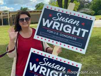 Trump-backed candidate whose husband died of Covid advances to congressional runoff in Texas