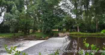 Am Rurwehr bei Linnich: Auftrieb für das Wasserkraftwerk - Aachener Nachrichten