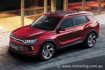 SsangYong Rexton and Korando SUVs get makeover - motoring.com.au - Motoring