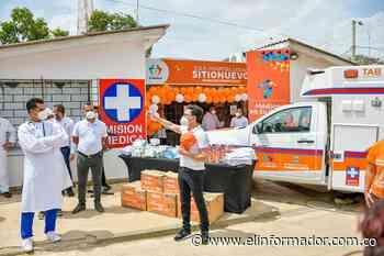 Gobernador Caicedo entrega ambulancia en Sitionuevo y anuncia la construcción de nuevo hospital - El Informador - Santa Marta