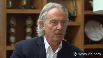 Behold Tony Blair's Lockdown Hair - GQ