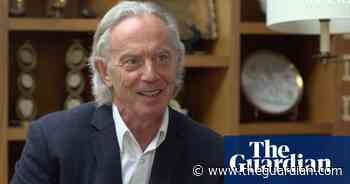 Tony Blair's hair: 'it's not been this long since I was in a band' - The Guardian
