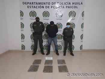 Anterior Con 3 kilos de marihuana fue capturado sujeto en Paicol - Diario del Huila