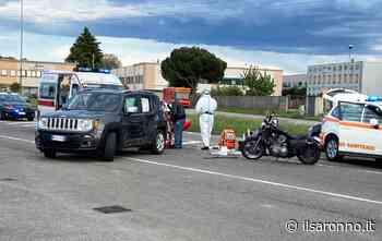 Solaro, scontro tra auto e moto sulla Saronno-Monza arriva l'automedica - ilSaronno