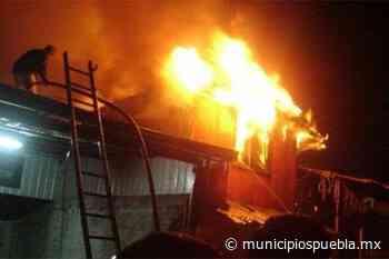 Sólo daños materiales deja incendio en Tlaxcalancingo - Municipios Puebla