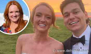 Pioneer WomanRee Drummond throws her daughterAlex a pandemic wedding to remember