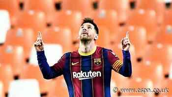 8/10 Messi inspires comeback to keep Barcelona in Liga title hunt