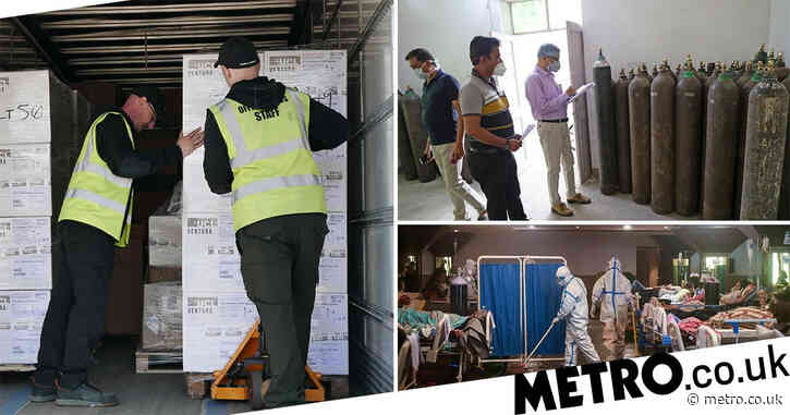 UK sends 1,000 more ventilators to India as nation records highest daily death toll