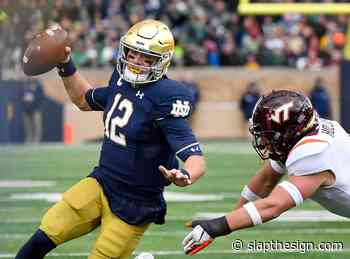 New Orleans Saints a perfect spot for Notre Dame football QB Ian Book - Slap the Sign