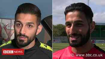 Wembley FA Vase: Hebburn v Consett clash sets twin against twin