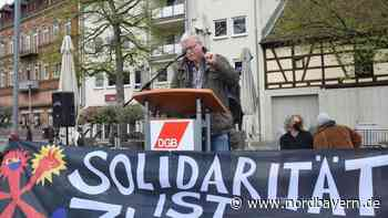 100 Teilnehmer bei Mai-Kundgebung auf dem Forchheimer Paradeplatz - Nordbayern.de