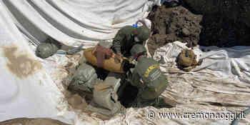 Guastatori cremonesi a Segrate: disinnescata bomba della Seconda Guerra Mondiale - Cremonaoggi