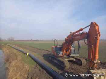 Hera: terminati i lavori di posa della nuova dorsale idrica di Argenta. - Nicola Passarotto