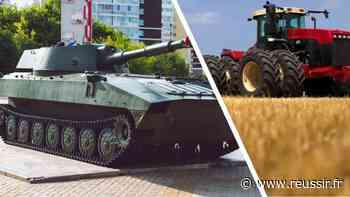 Les chars russes paralysent les livraisons de tracteurs - Réussir