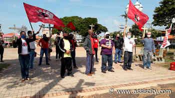 Entidades sindicais de Assis realizam ato em homenagem ao dia dos Trabalhadores - Assiscity