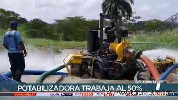 Potabilizadora de Chilibre trabaja al 50% de su capacidad - Telemetro