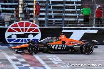O'Ward gets 1st IndyCar win at Texas after big 1st-lap crash