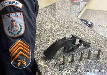 Homens armados são presos em Itatiaia e Quatis - Foco Regional