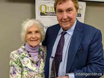 Quinte West Chamber of Commerce honours Lanny Huff - Belleville Intelligencer