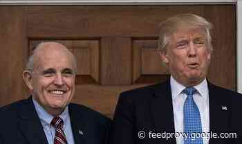 Trump will throw Guiliani 'under a bus' to save his own skin predicts ex-lawyer Cohen