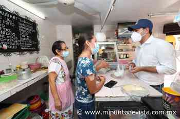 Mauricio Vila Dosal acude al mercado municipal de Izamal - www.mipuntodevista.com.mx