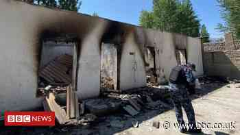 Kyrgyzstan-Tajikistan: Images of destruction after border clashes