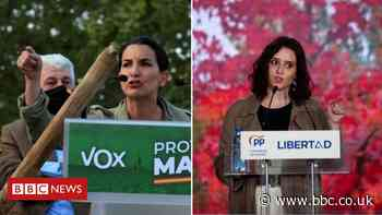 Spain's far-right Vox eye share of power in Madrid