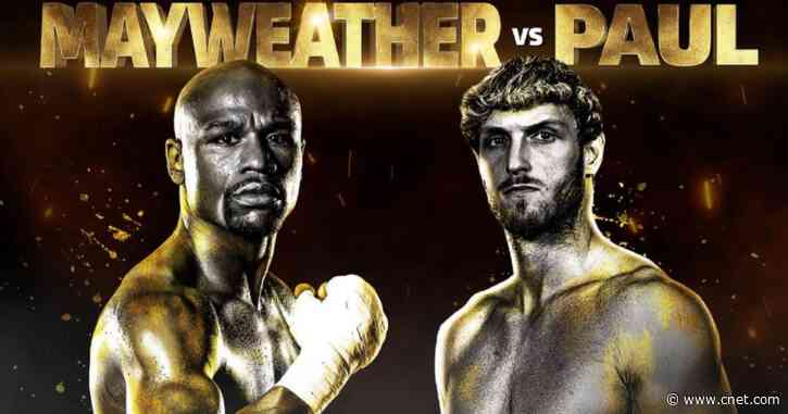 Logan Paul vs. Floyd Mayweather Jr.: Fight date, how to watch, everything to know - CNET