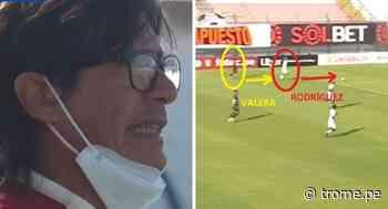Álex Valera no quiso disputar la pelota y provocó fuerte enojo de Ángel Comizzo [VIDEO] - Diario Trome